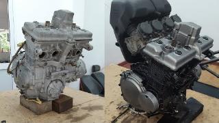 铃木盗匪250cc发动机翻新