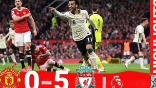 双红会 英超第九轮 利物浦5:0曼联 高光集锦