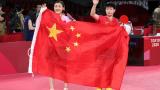【全程回放】女单乒乓球金牌赛,最终陈梦摘金,孙颖莎摘银!