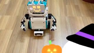 自己编程的乐高机器人