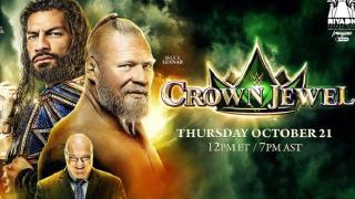 【WWE】Crown Jewel2021(宝冠大赛2021)中文解说/全场高清