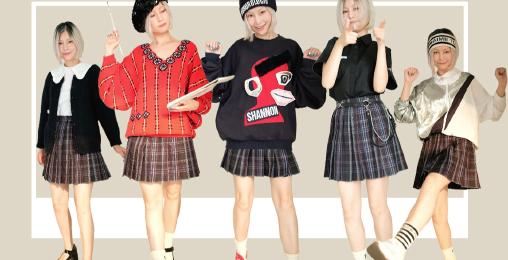 重磅必看!AC娘赛博朋克JK裙一衣多穿合集|秋冬穿搭学生党开学季搭配法则