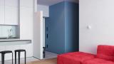 64㎡小清新住宅巧妙运用色彩让空间延展更强