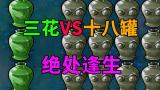 【三花十八罐】绝处逢生!金盏花再战红眼巨人僵尸!