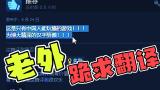 这款国产游戏,外国人哭着求翻译!!!