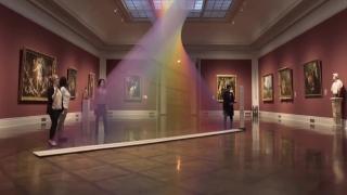 艺术家Gabriel Dawe在十多年里,用一根根棉线编织出了许多道永不消逝的彩虹