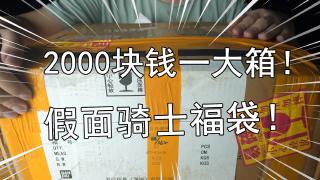 【零度模玩】没想到2168块钱的假面骑士福袋能开到全新的CSM腰带!?