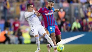 2021-2022赛季西甲第10轮 巴塞罗那vs皇家马德里 全场集锦