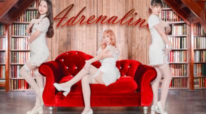 Adrenaline纯白旗袍与肾上腺素