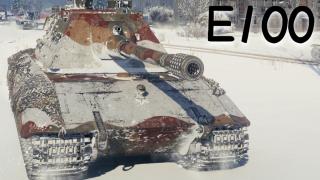 【坦克世界】E100:6杀 - 万伤,靠脸吃饭(哈尔科夫)