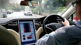 【Poweron汉化】Tesla Model S P90D试驾