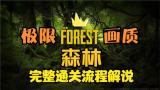4K顶级画质 迎接森林之子 双人重新通关【森林The Forest】第二夜