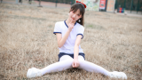 【阿晢】体操服学妹跳第三套全国小学生广播体操《希望风帆》(精简版)