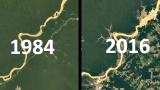 地球早已不是绿色蔚蓝色?看32年的地球变化,这是我们的家园吗?