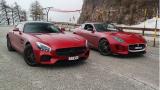 梅赛德斯 AMG GT S vs 捷豹F-TYPE