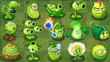 all green plants power-up!in plants vs zombies
