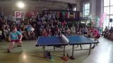 乒乓足球之这个头球技术不得了